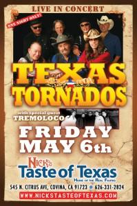 Texas Tornados with Tremoloco