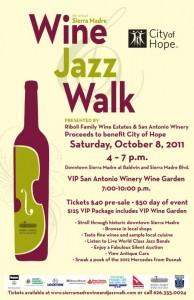 Wine and Jazz Walk 2011