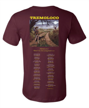 Men's Tour Shirt Maroon